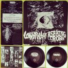REEKING CROSS / LANDFILL split 7 EP (PSYCHO #053)