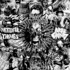 NEEDFUL THINGS / NERVE GRIND split 7 EP (AGROMOSH)